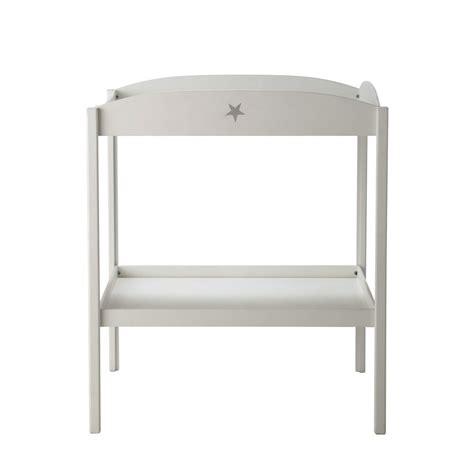 table 224 langer en bois blanche l 80 cm pastel maisons du monde