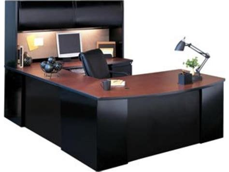 office u shaped desk exec u shaped office desk with hutch csii 7265 office desks