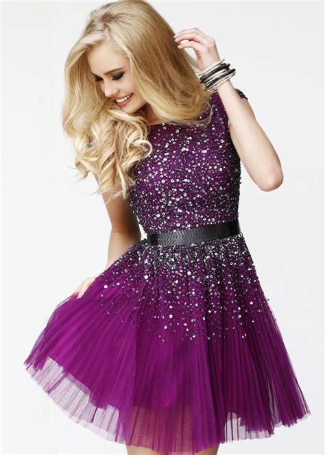 purple beaded dress purple beaded prom dress with open back everyounglady