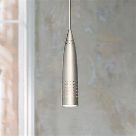 brushed steel chandelier odyssey collection brushed steel mini pendant chandelier