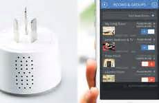 smartphone controlled outlet voice enabled smart plugs wifi smart