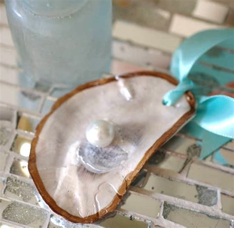 oyster shell craft projects 11 ornament ideas the space between