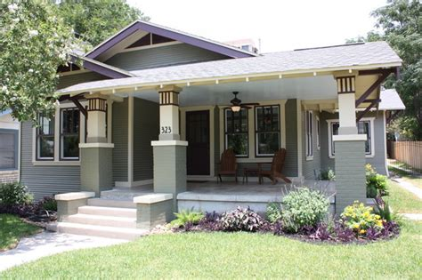 craftsman bungalow renovation traditional exterior