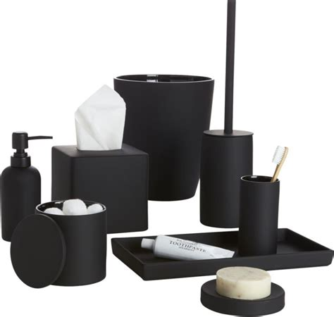Black And White Bathroom Accessories by Black And White Bathroom Accessories Www Pixshark