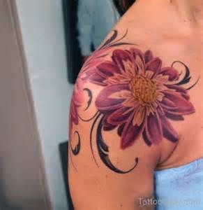 flower tattoo design on shoulder tattoo designs tattoo