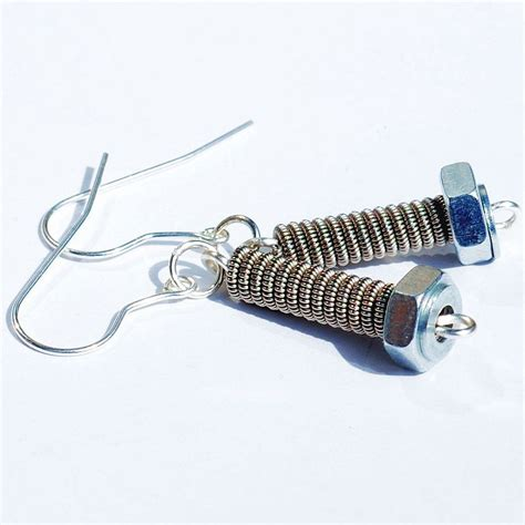how to make guitar jewelry guitar string jewelry guitar string earrings upcycled by