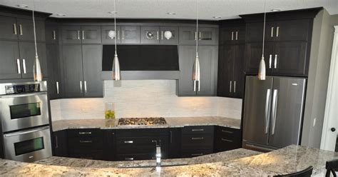 pics of kitchens with black cabinets remodelaholic fabulous kitchen design with black