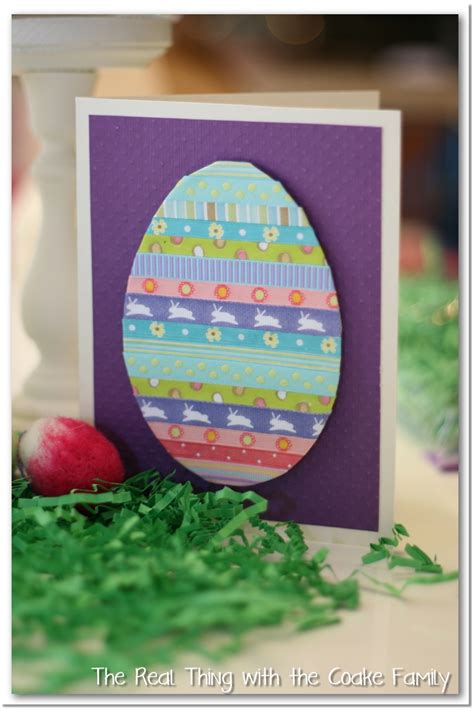 card ideas for easter handmade cards simple easter card the real thing with