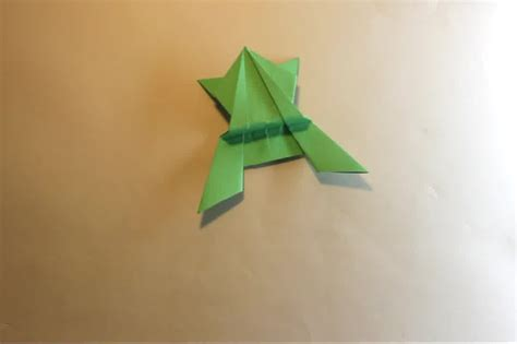 make a origami how to make an origami jumping frog 15 steps with pictures