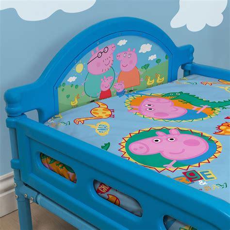 george pig toddler bed set peppa pig george family junior toddler bed new bedroom