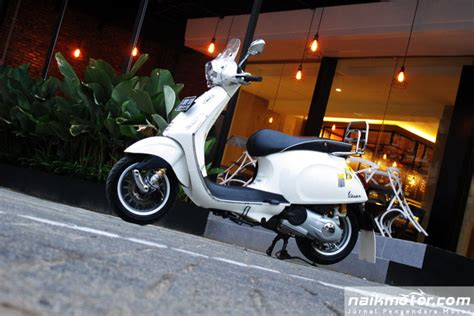 Modifikasi Vespa Sprint by Modifikasi Vespa Sprint Til Maskulin Dengan Suspensi