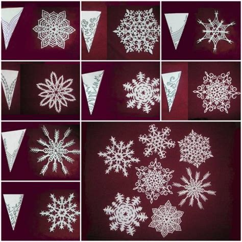 paper snowflakes craft how to make beautiful snowflakes paper craft diy tutorial