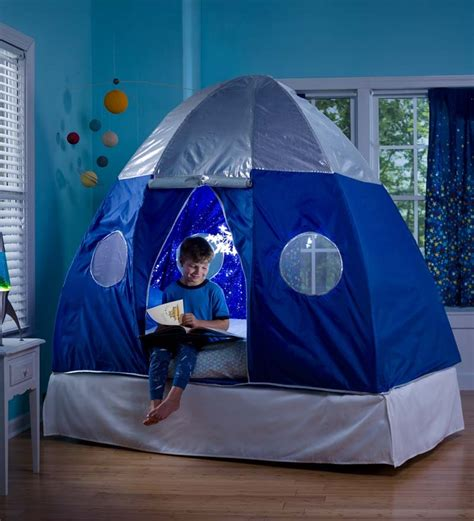 boys bed tent galactic bed tent room play spaces