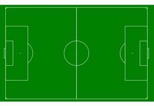 football pitch template clipart best
