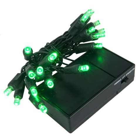 mini battery powered led lights battery operated lights 20 green battery operated 5mm