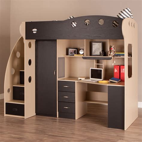 loft beds with desk for why we to apply loft bed for small bedroom atzine