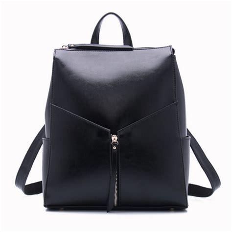 black leather backpacks black leather backpack fashion office bag work bags stylish backpacks for