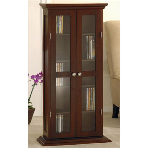 media storage cabinet with glass doors cd dvd cabinet with glass door winsome wood media storage