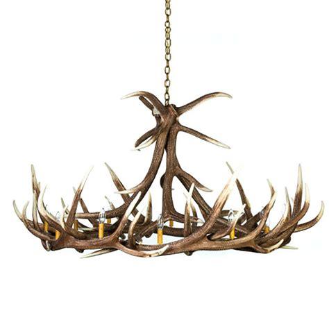 elk chandelier elk 9 antler chandelier e9