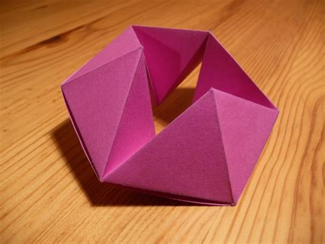 hexaflexagon origami origami nut 187 hexaflexagon