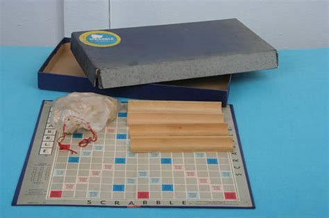 za in scrabble word vintage scrabble word board 1953 was