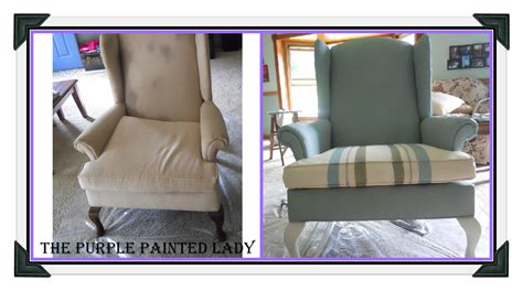 chalk paint on fabric using chalk paint 174 to paint your or wing back chair