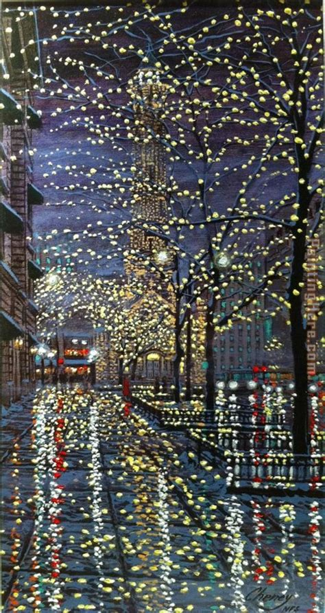 paint nite chicago unknown artist chicago water tower at painting