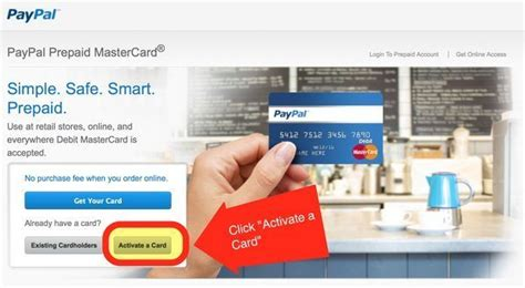 can you make a paypal with a prepaid card cvs paypal mastercard credit million mile secrets