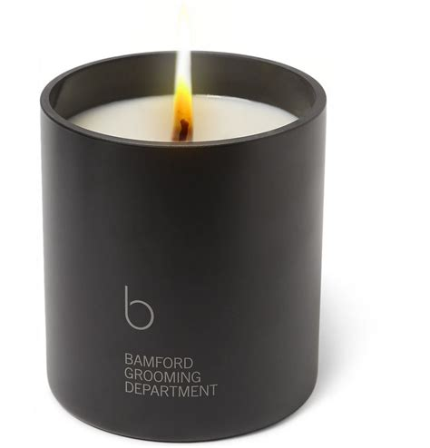 scent candles masculine scented candles bamford grooming department
