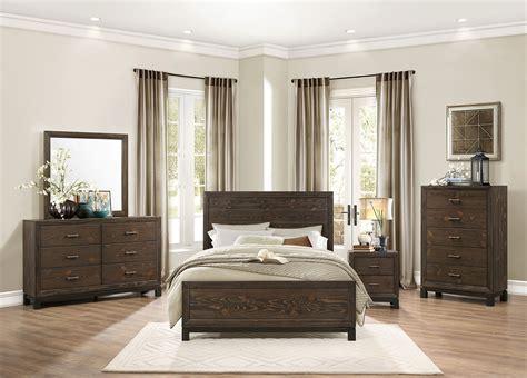 homelegance bedroom furniture homelegance branton bedroom set antique brown 1968