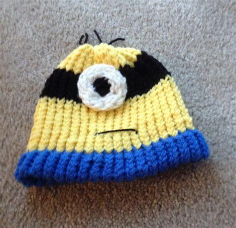 knitted minion hat minion knit hat by lishachan on deviantart