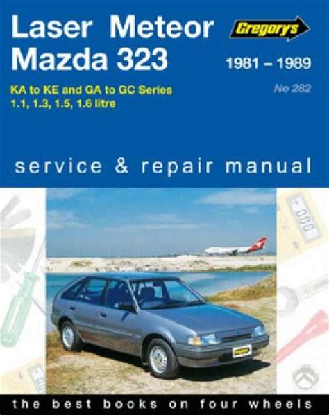 how to download repair manuals 1988 ford laser lane departure warning ford laser meteor mazda 323 1981 1989 gregorys service repair manual workshop car manuals