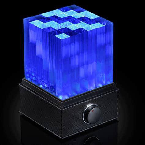 led lightshow supernova led light show bluetooth speaker cube the
