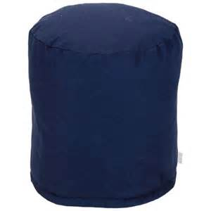 navy blue pouf majestic home navy blue solid small pouf pricefalls