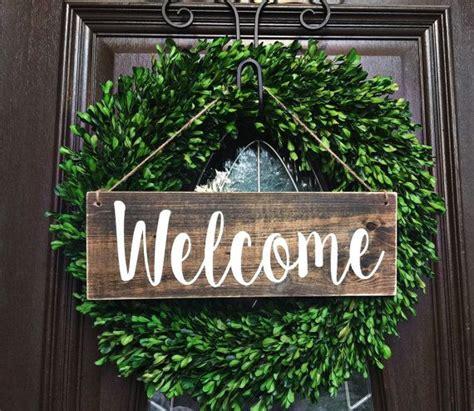 front door welcome signs 25 best ideas about door signs on wooden door