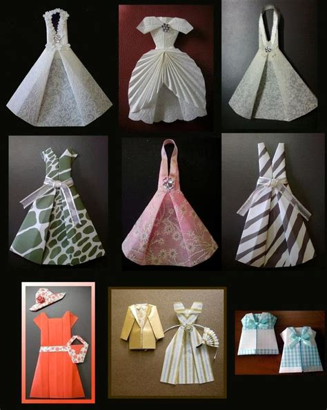 paper dress craft 17 best ideas about origami dress on diy paper