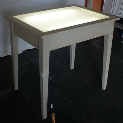 drafting table light vintage drafting light table desk wood glass ebay