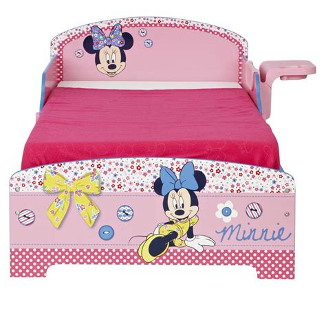 minnie mouse bed frame minnie mouse toddler junior bed shelf storage sprung