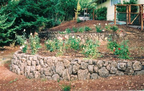 rock wall garden ideas garden walls ideas landscape construction rock