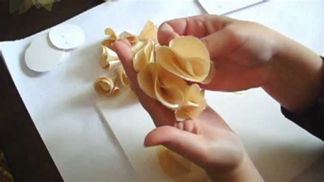 for to make flower tutorial series day 2