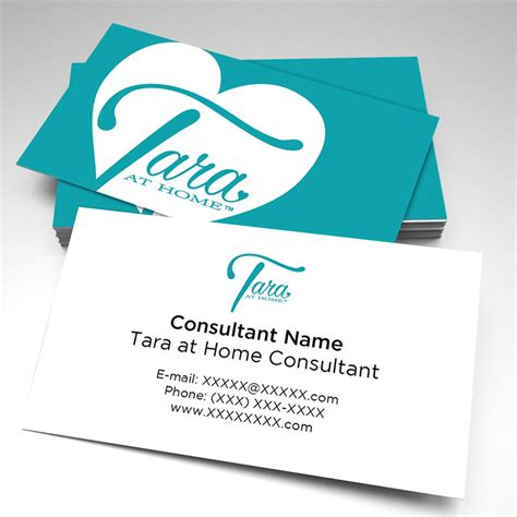 own business cards at home tara at home consultant business cards pack of 250
