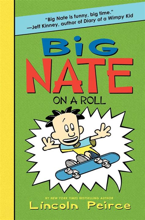 big nate book pictures junior library guild big nate on a roll by lincoln peirce