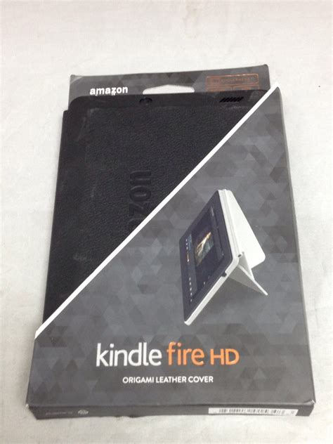 kindle hd origami kindle hd standing leather origami for