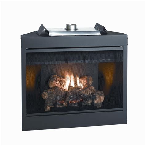 b vent fireplace empire keystone deluxe b vent flush gas fireplace 34