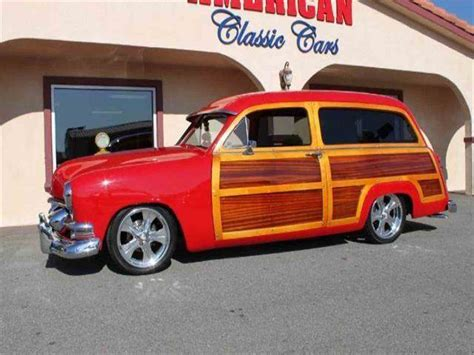 Ford Woody by 1951 Ford Woody Wagon For Sale Classiccars Cc 957903