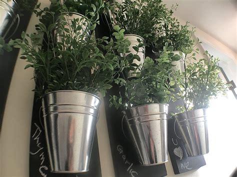 vertical wall planter vertical indoor wall planter with galvanized steel pots