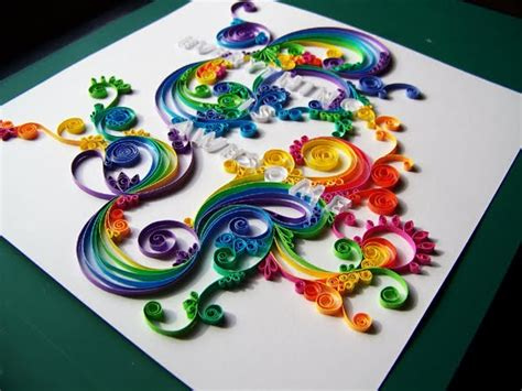 quilling paper crafts all things paper more quilled lettering