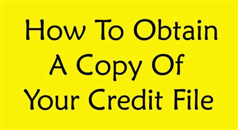 how to make a copy of a credit card how to obtain a copy of your credit file 6 steps