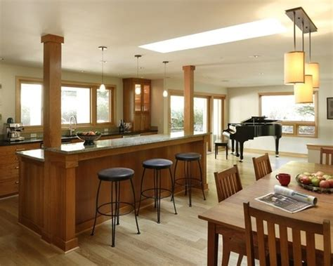 kitchen island with columns 20 beautiful kitchen island designs with columns
