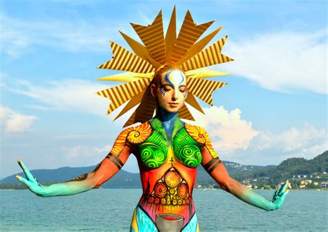 where is painting festival world bodypainting festival magazine